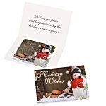 Greeting Card w/Magnetic Calendar - Snowman
