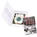 Greeting Card w/Magnetic Photo Frame - Horse Drawn Carriage
