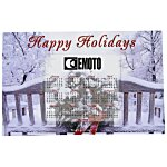 Greeting Card w/Magnetic Calendar - Winter