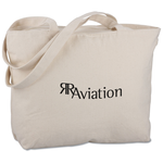 Signature Cotton 12 oz. Zippered Tote -24 hr