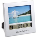 Picture Frame w/Clock - Small