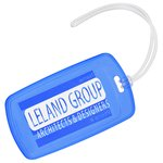 Traveler Rectangle Luggage Tag - Translucent