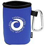 Collapsible KOOZIE® Can Kooler w/Carabiner