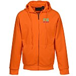 Ultra Club Thermal-Lined Full Zip Sweatshirt - Brights - Emb