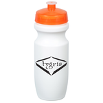 Move-It Bike Bottle - 20 oz. - White