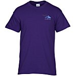 Gildan 5.3 oz. Cotton T-Shirt – Men's - Emb - Colors