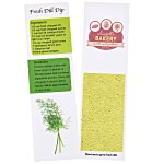 Recipe Bookmarks - Dill