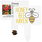 Compostable Seed Stakes - Zinnia