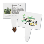 Compostable Seed Stakes - Spruce Tree