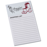 Bic Business Card Magnet with Note Pad - Grocery List