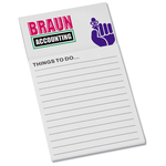 Bic Business Card Magnet with Note Pad - Don't Forget