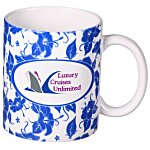 Hawaiian Blue Designer Mug - 11 oz.