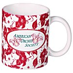 Hawaiian Red Designer Mug - 11 oz.