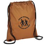 Sport Nylon Drawstring Backpack - 24 hr