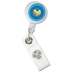 Mini Retractable Badge Holder