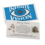 Compostable Business Card w/Seeds - Money Plant