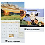 The Old Farmer's Almanac Calendar - Country- Stapled - 24 hr
