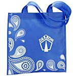 Paisley Printed Tote