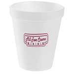 Foam Hot/ Cold Cup - 8 oz.