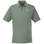 Harriton 6 oz. Pique Polo with Tipping
