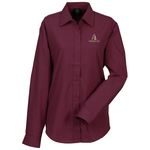 Broadcloth Value Shirt - Ladies' - Solid - 24 hr