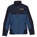 North End Color Block Soft Shell Jacket - Men's