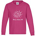 5.2 oz. Cotton Long Sleeve T-Shirt - Youth - Screen