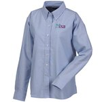 Blue Generation Long Sleeve Oxford - Ladies' - Solid