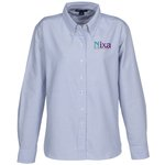 Blue Generation Long Sleeve Oxford - Ladies' - Stripes