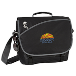 Freestyle Laptop Messenger Bag - Embroidered