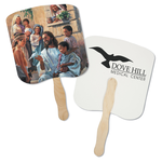 Hand Fan - Spiritual - Dove