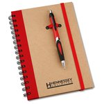 Eco Spiral Notebook w/Helix Pen - 8