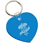 Heart Soft Key Tag - Translucent