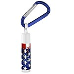 Holiday Value Lip Balm w/Carabiner - Stars & Stripes