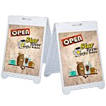 Sidewalk Messenger - Double-Sided Graphics