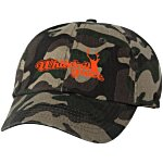 Bio-Washed Cap - Camo - Screen