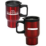 ID Stainless Steel Travel Mug - 16 oz. - 24 hr