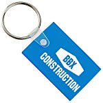 Small Rectangle Soft Key Tag