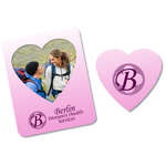 Bic Magnetic Photo Frame - Heart