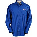 Blue Generation LS Peached Fine Line Twill Shirt – Men's