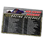 NASCAR Racing Schedule Magnet - 30 mil