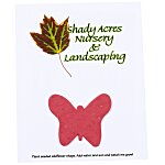 Seeded Paper Shapes Mailer/Postcard - 4
