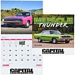 Muscle Thunder Calendar - Stapled