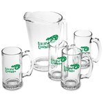 Pitcher & Stein Glass Set