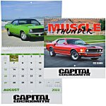 Muscle Thunder Calendar - Spiral