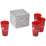 Colored Pint Glass Set - 16 oz.