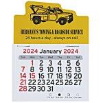 Peel-n-Stick Calendar - Tow Truck