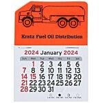 Peel-n-Stick Calendar - Propane Truck