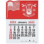 Peel-n-Stick Calendar - American Flag