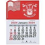 Peel-n-Stick Calendar - American Flag